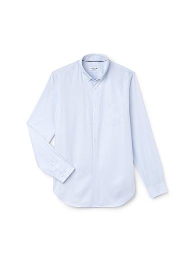 Lacoste Uzun Kollu Gömlek Mavi